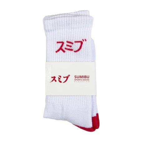 Tippy Toe Socks | Red