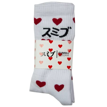 SUMIBU True Love Socks   Red