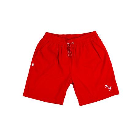 SUMIBU Nylon Swim Trunks | Red