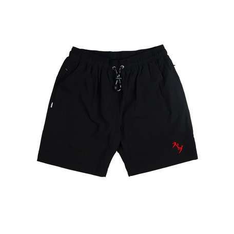 SUMIBU Nylon Swim Trunks | Black
