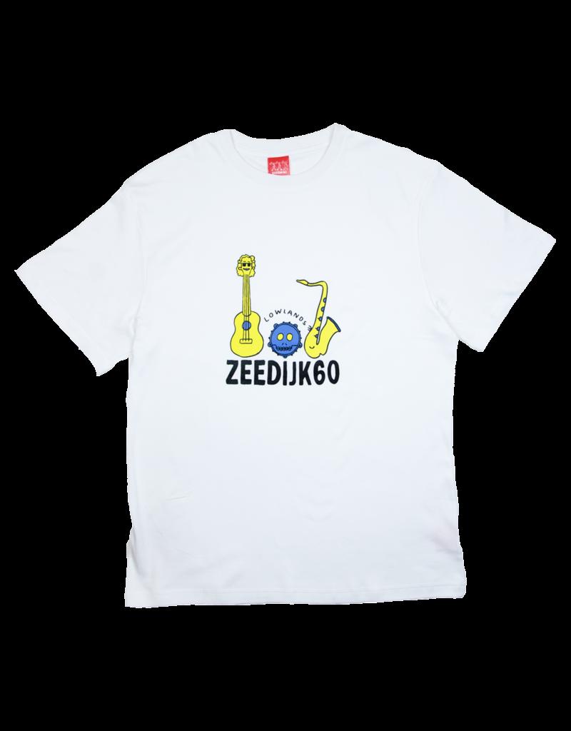 ZEEDIJK 60 White Z60 x Lowlands T-Shirt