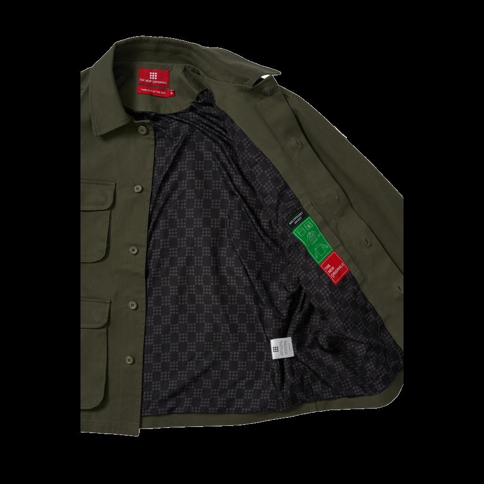 The New Originals Multi Pocket Jacket | Dark Green