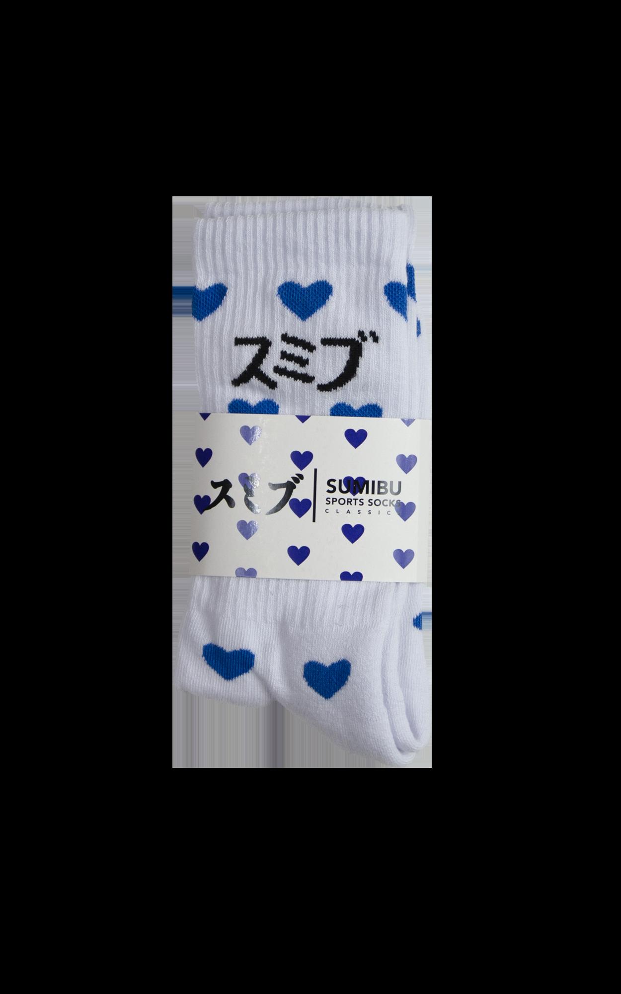 SUMIBU True Love Socks   Blue