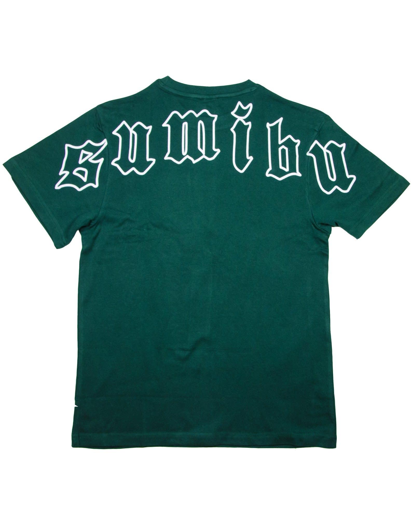 SUMIBU Green Backroll T-Shirt