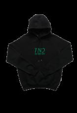 The New Originals Black/Green | TNO Underline Hoodie