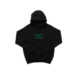 The New Originals TNO Underline Hoodie | Black/Green
