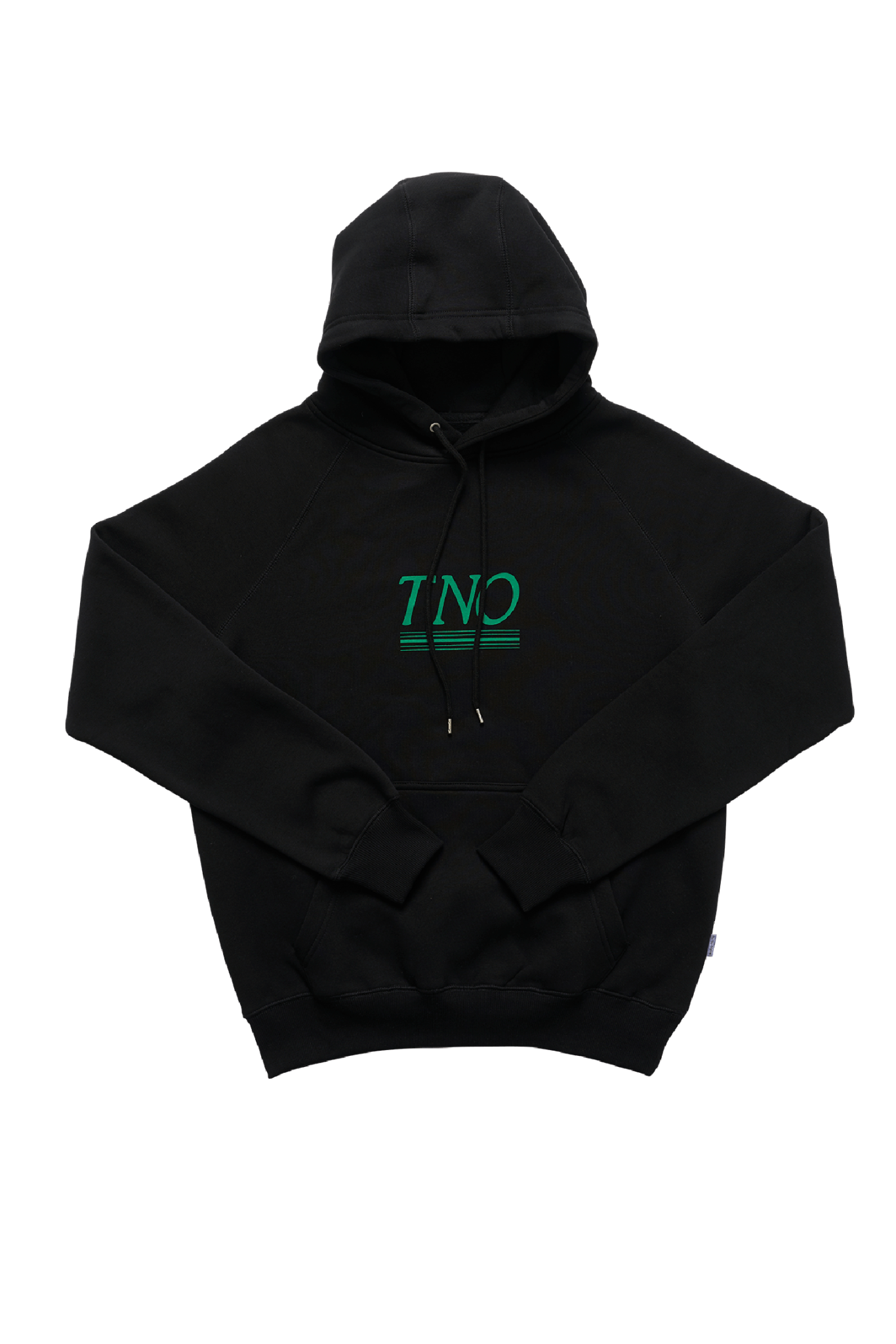 The New Originals Black/Green   TNO Underline Hoodie