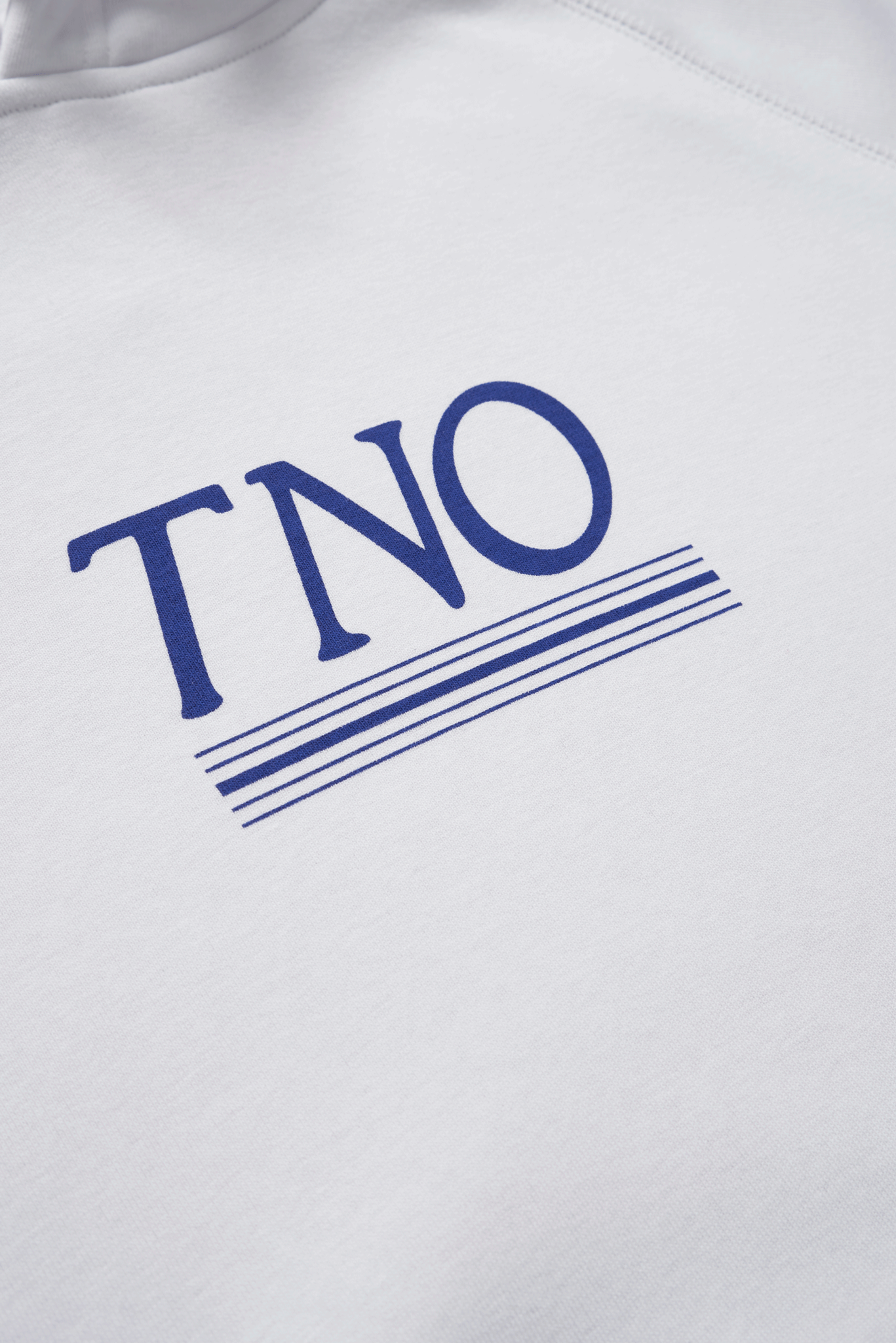 The New Originals White/Blue | TNO Underline Hoodie