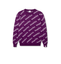 SUMIBU SUMIBU All Over Sweater | Purple