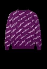 SUMIBU SUMIBU All Over Sweater   Purple
