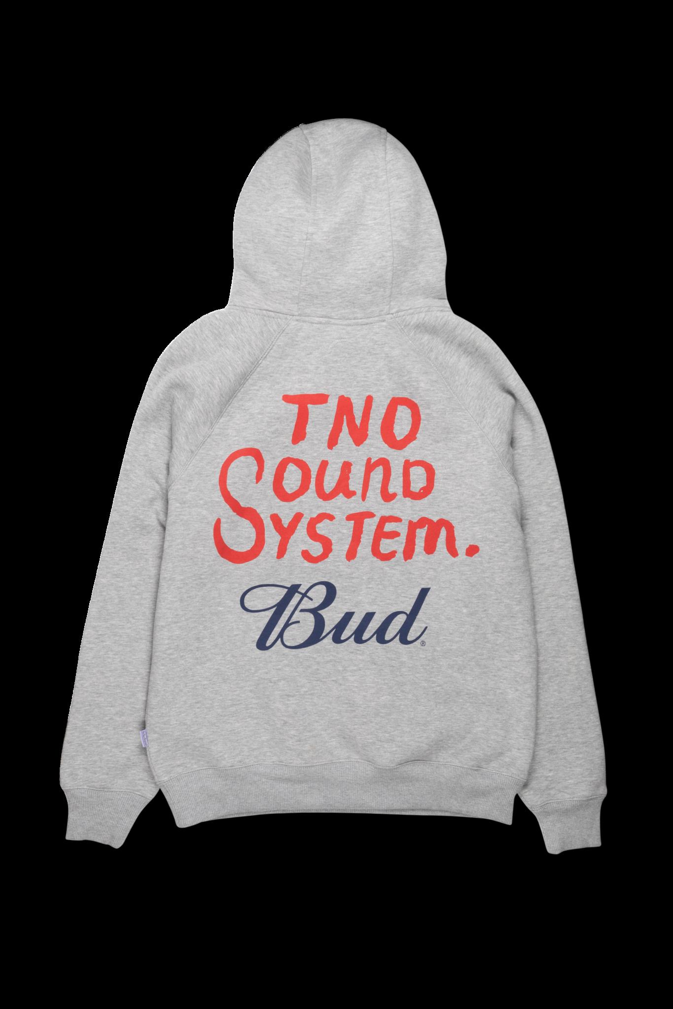 The New Originals TNO X Bud 'Freddy Bud' Hoodie | Grey