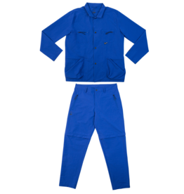 Bonne Amsterdam Patta x Bonne Suit Technical Blue