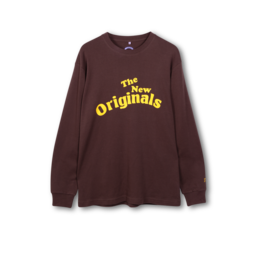 The New Originals Workman Longsleeve | Brown/Yellow