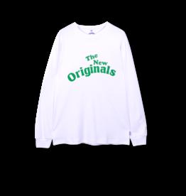 The New Originals Workman Longsleeve | White/Green