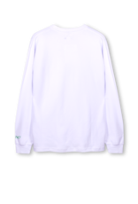The New Originals Workman Longsleeve | White/Green