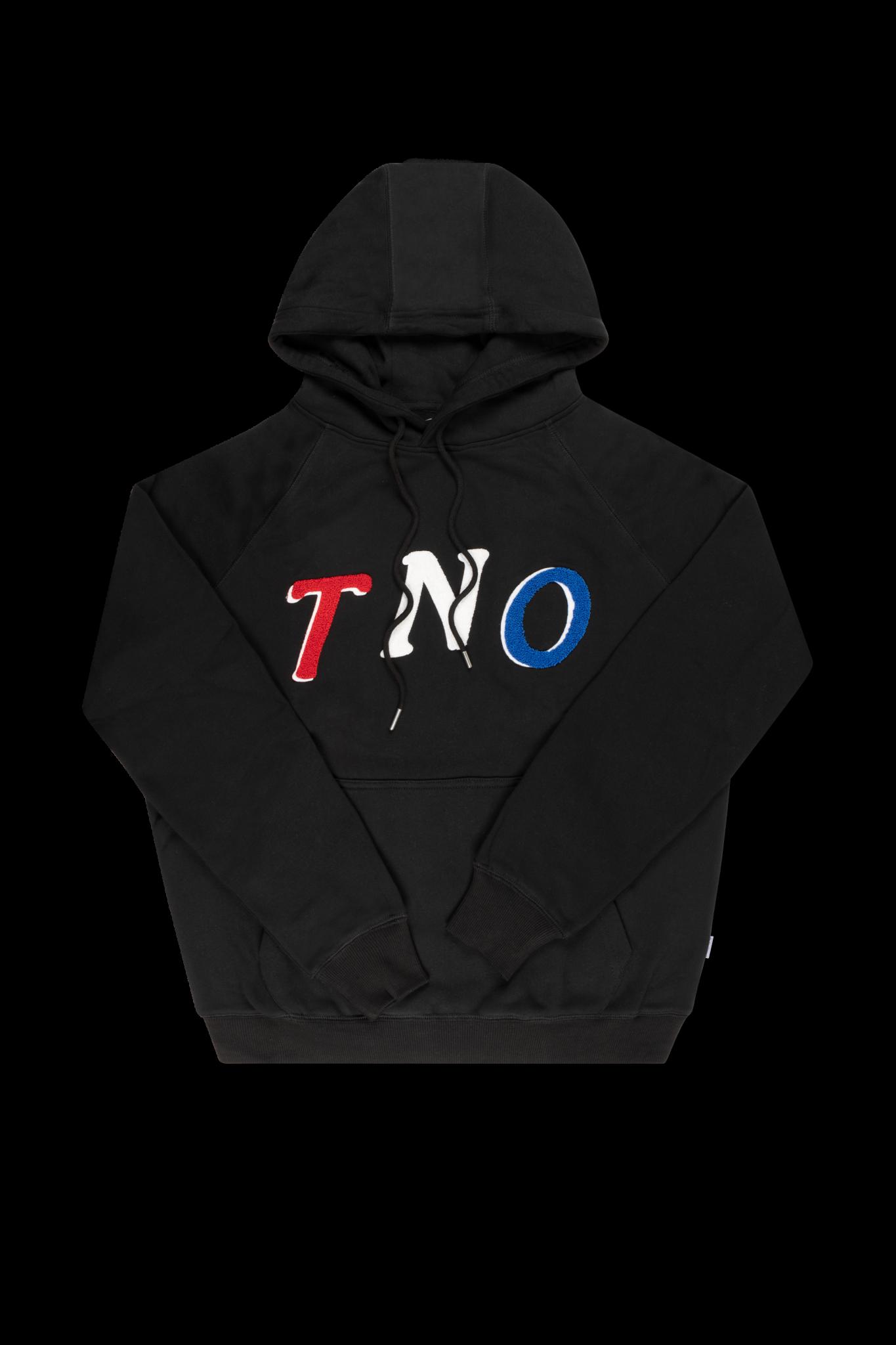 The New Originals TNO Fabric Hoodie | Black