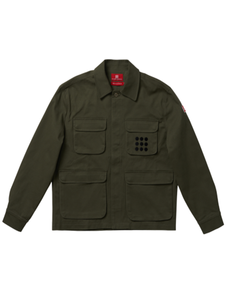 The New Originals Multi Pocket Jacket | Dark Green
