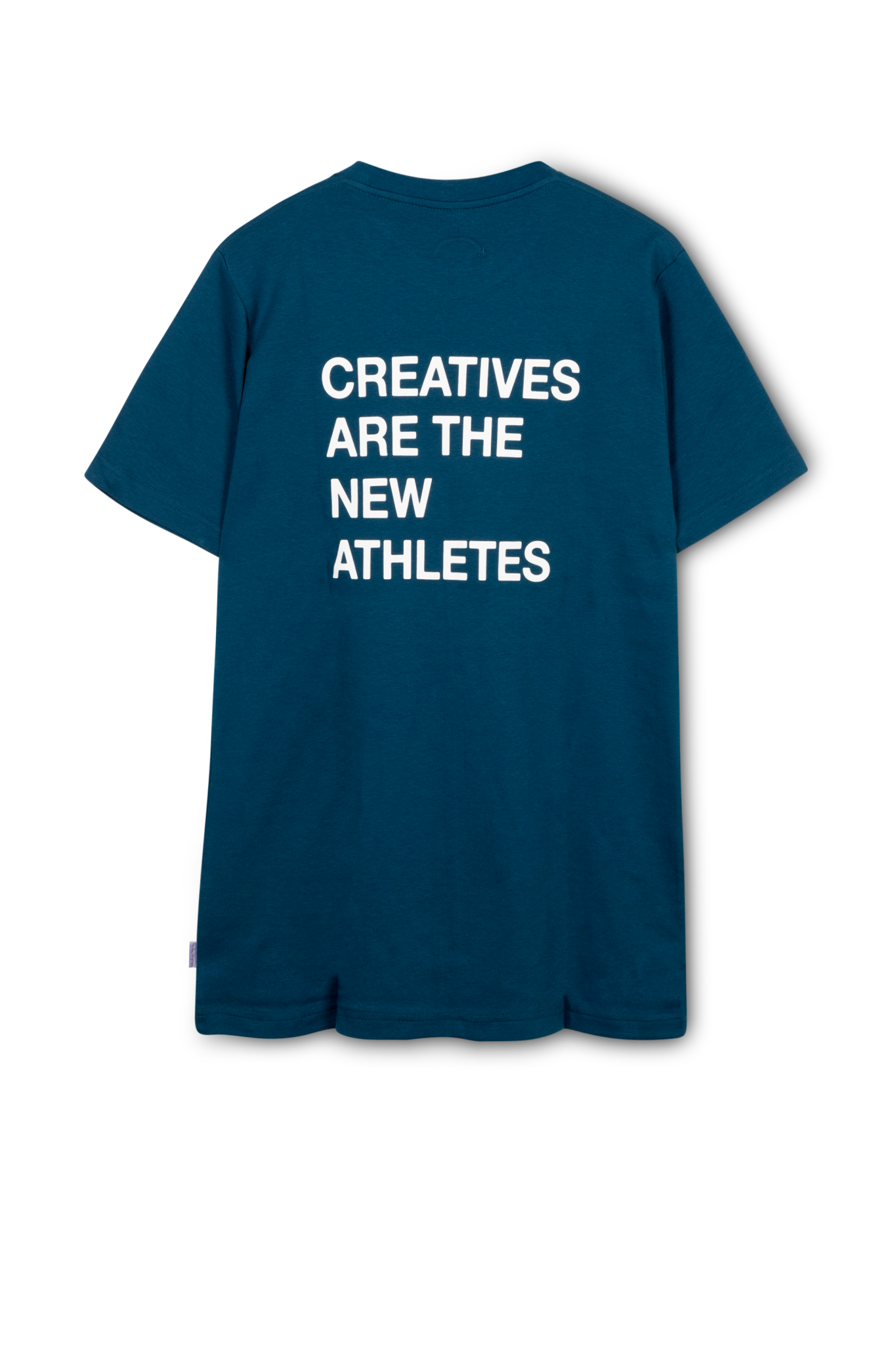 The New Originals TNO TEE | CREATIVES ARE THE NEW ATHLETES | BLUE