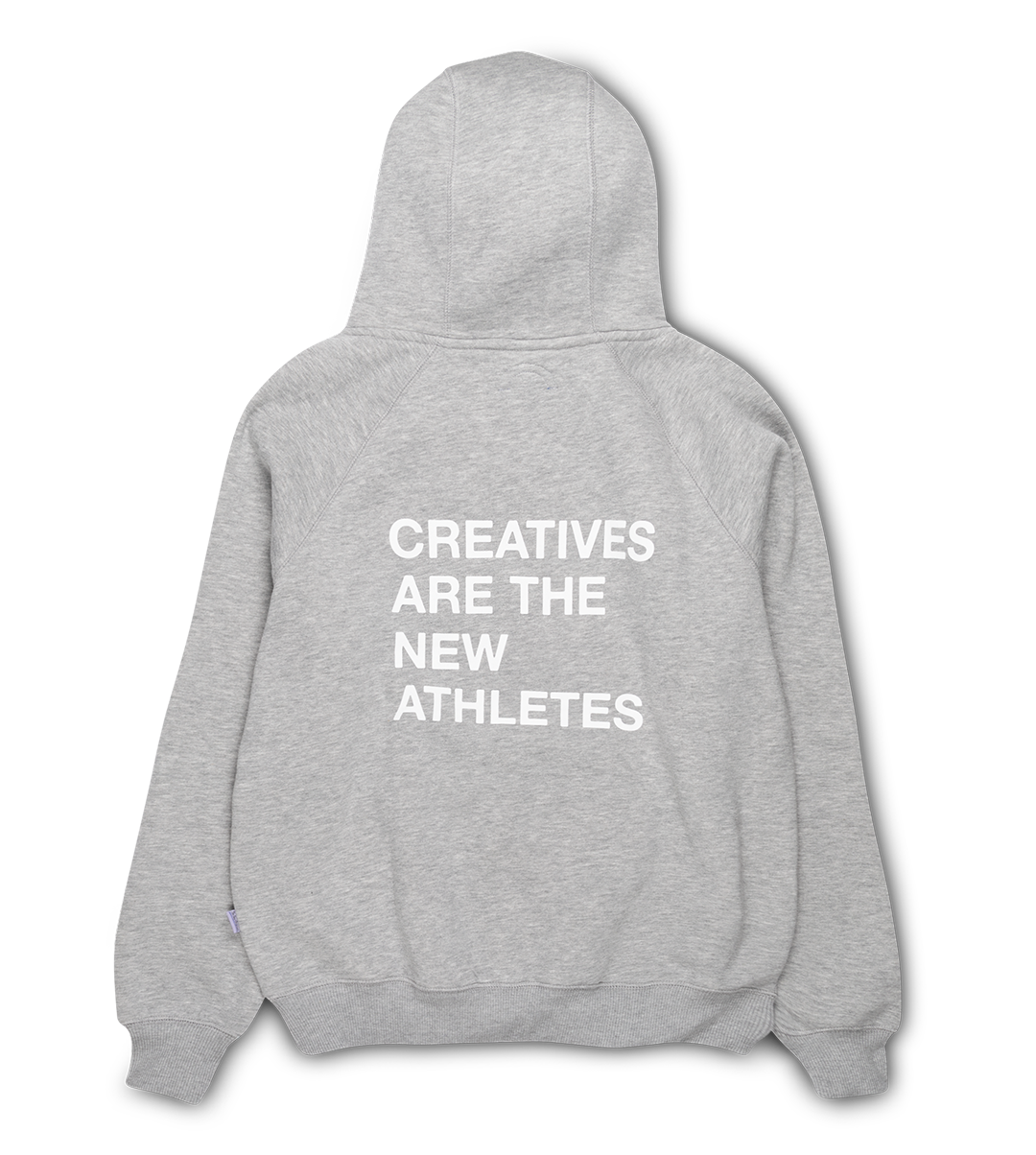 The New Originals Grey Creatives Are the New Athletes Hoodie