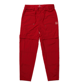 The New Originals Parachute Nylon Trousers | Red