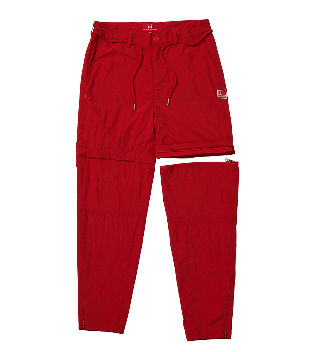 The New Originals Red Parachute Nylon Trousers