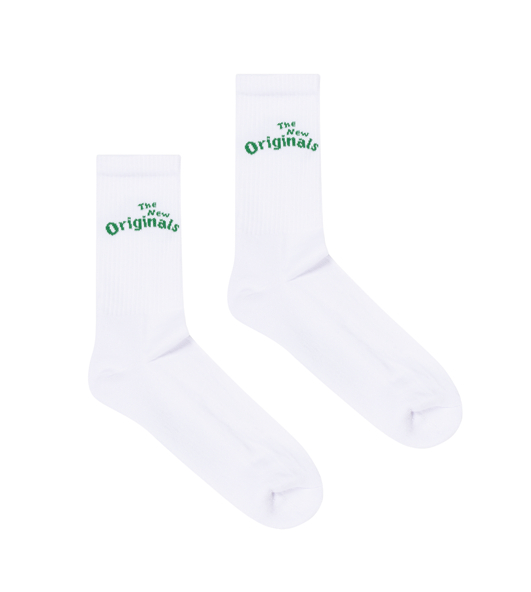 The New Originals Workman Socks White/Green