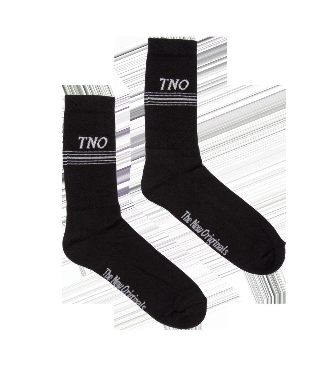 The New Originals Underline Socks Black/Grey