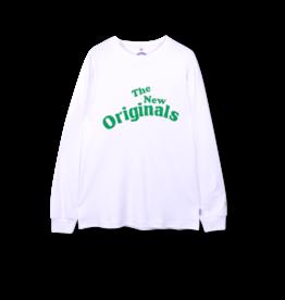 The New Originals Workman Longsleeve   White/Green