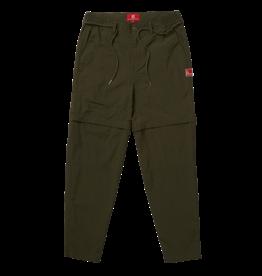 The New Originals Dark Green Nylon Parachute Trousers