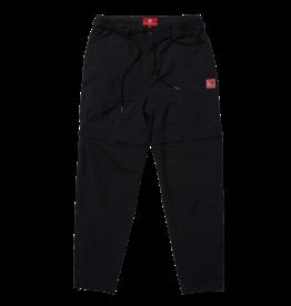 The New Originals Black Nylon Parachute Trousers