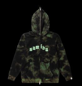 SUMIBU Slime Wash Full-Zip Hoodie