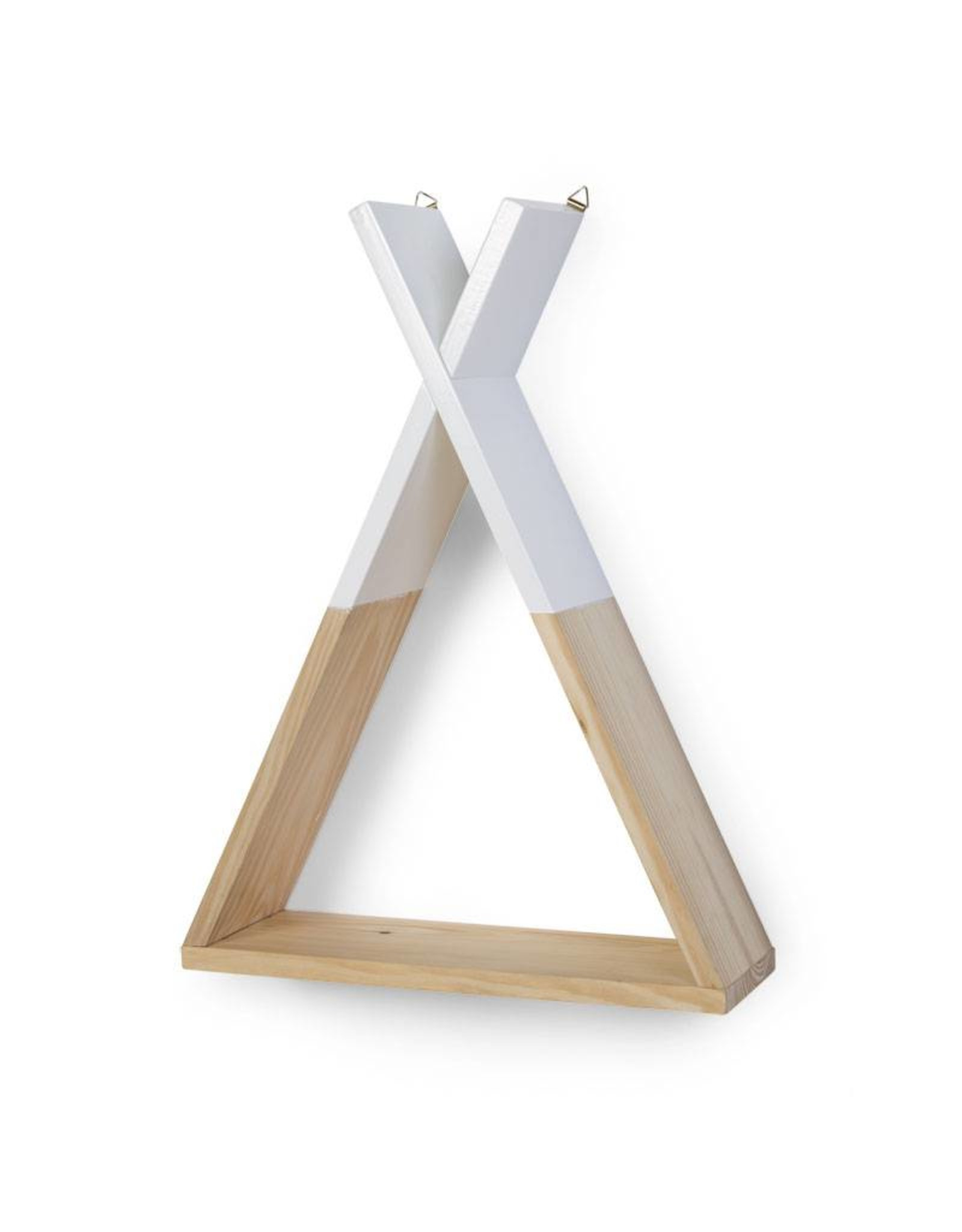Childhome Childhome Wandrek Tipi - Hout - Natural Wit