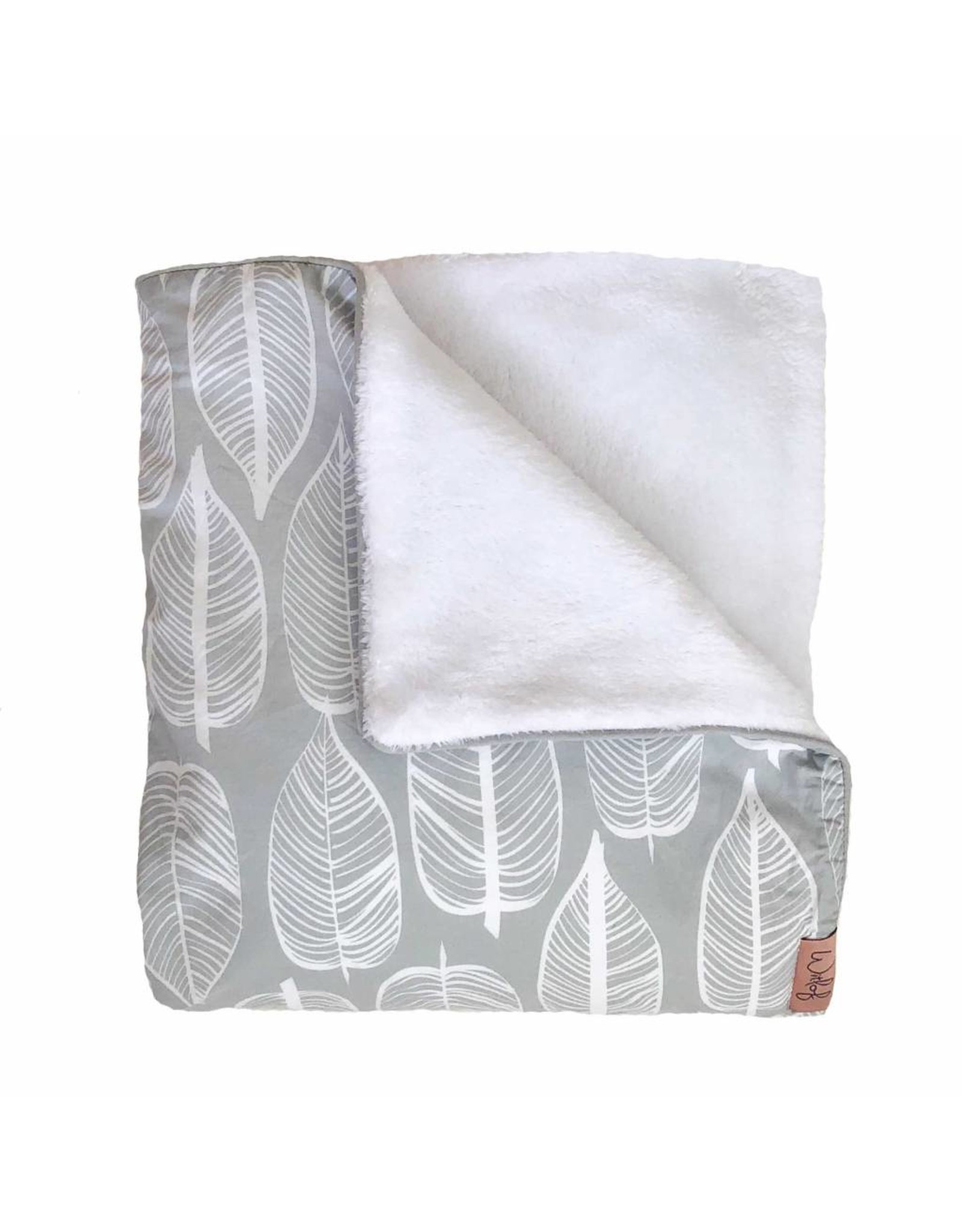 witlof for kids Witlof for kids Tuck-in 40x80 Beleaf Warm Grey/White