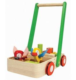 PlanToys Plan Toys Houten Loopwagen Bird Walker