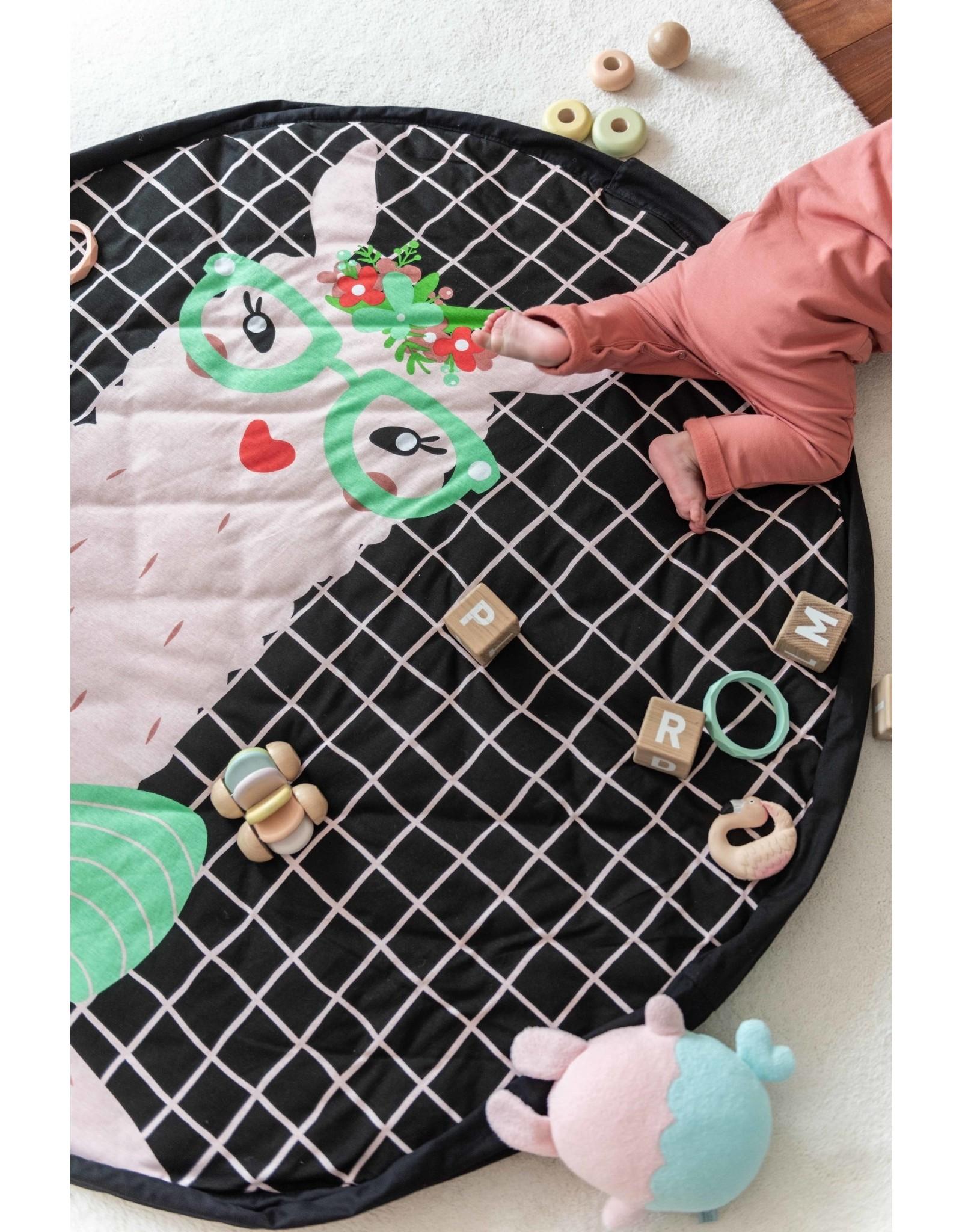 Play & Go Play & Go opbergzak Soft Lama