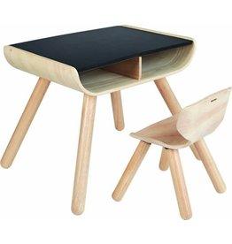 PlanToys Plan Toys Table & Chair Black