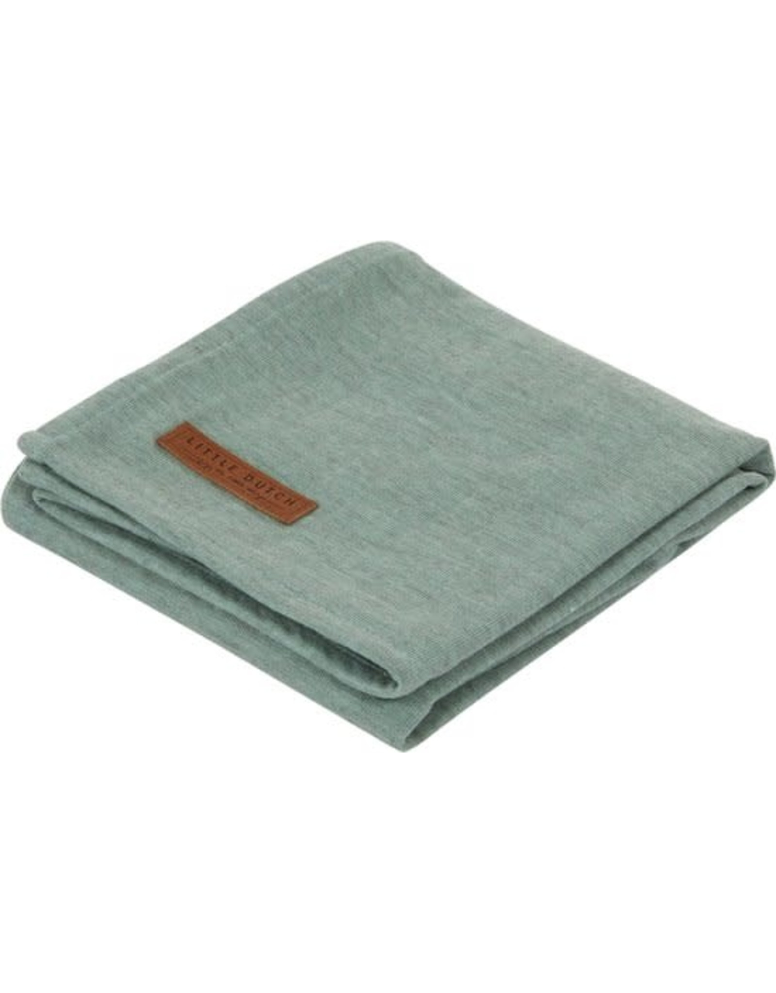 Little Dutch Little Dutch Swaddle 120x120 Pure Mint