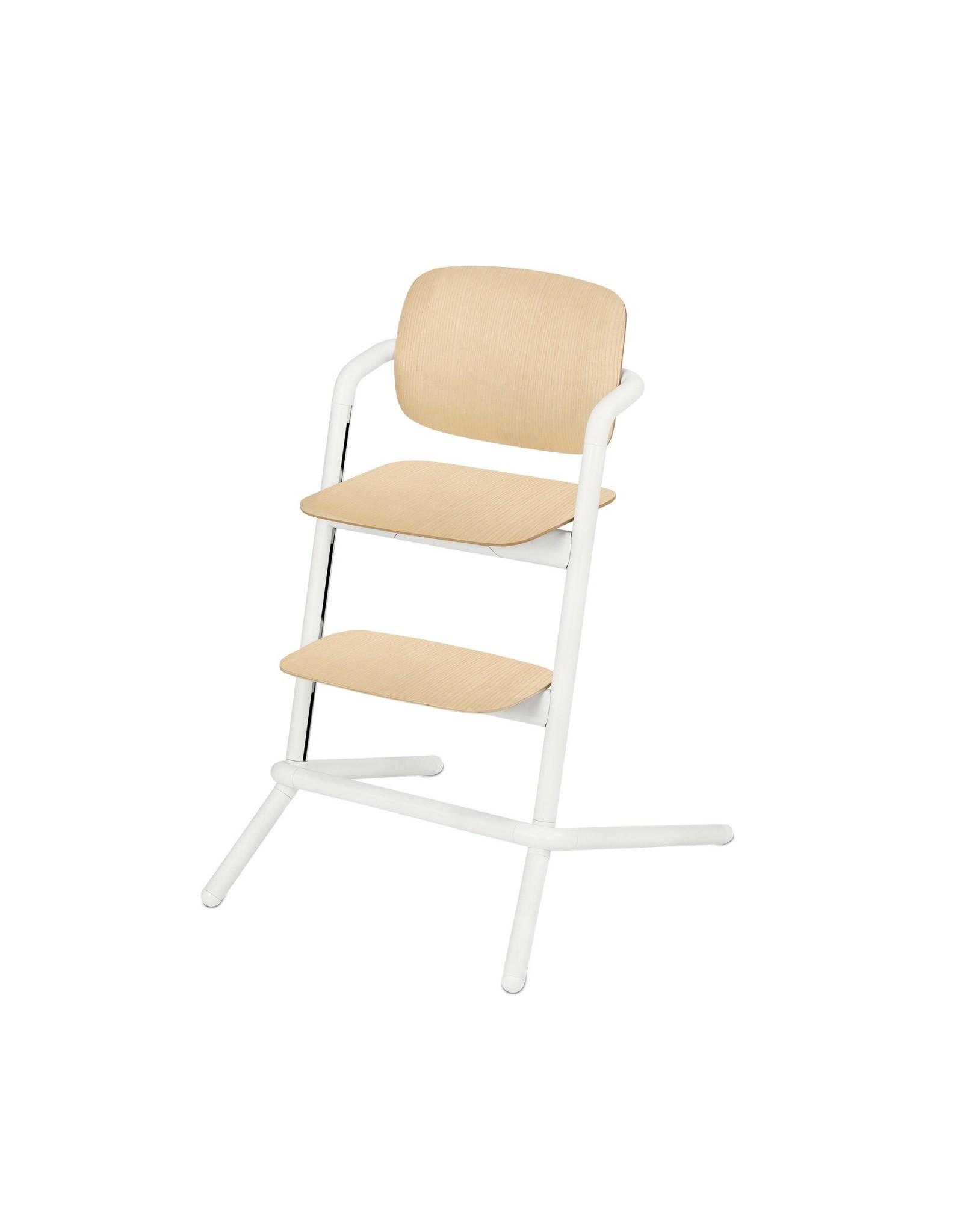Cybex Cybex Lemo Kinderstoel Wood - White
