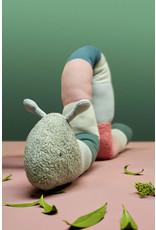 Lassig Lassig Knitted Toy With Rattle Garden Explorer Caterpillar