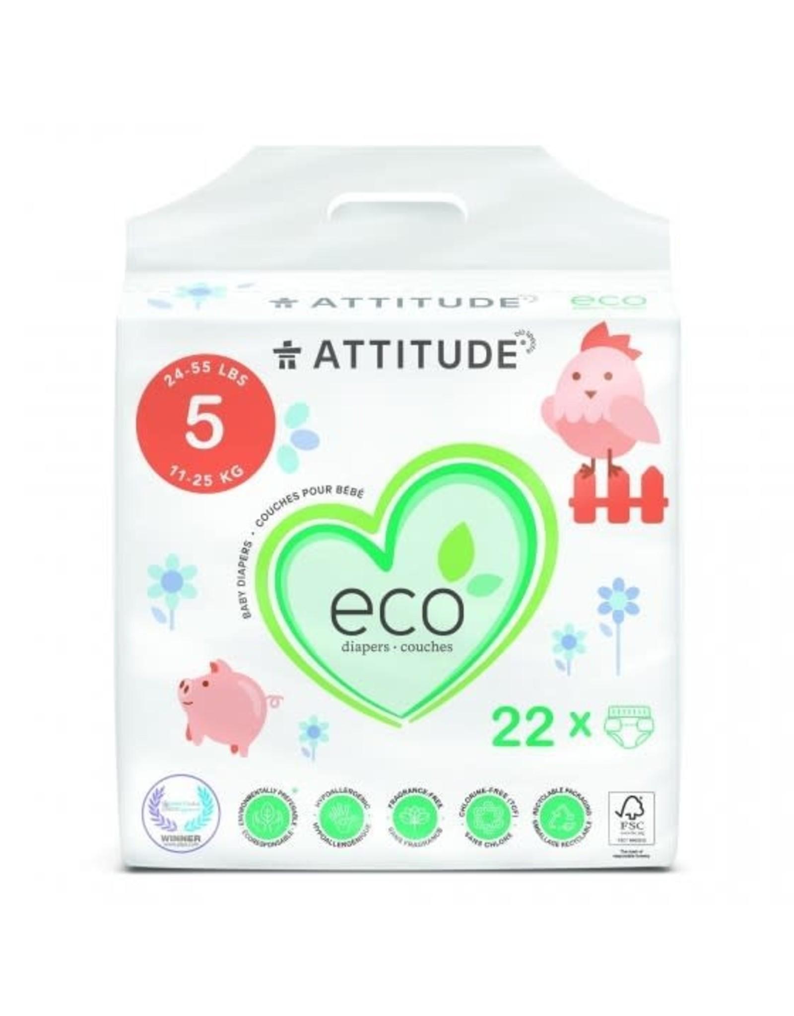 Attitude Attitude Baby Care Luiers Maat 5