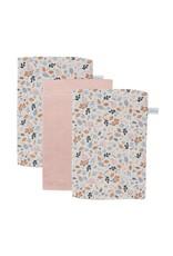 Little Dutch Little Dutch Washandjes Pure Pink / Spring Flowers
