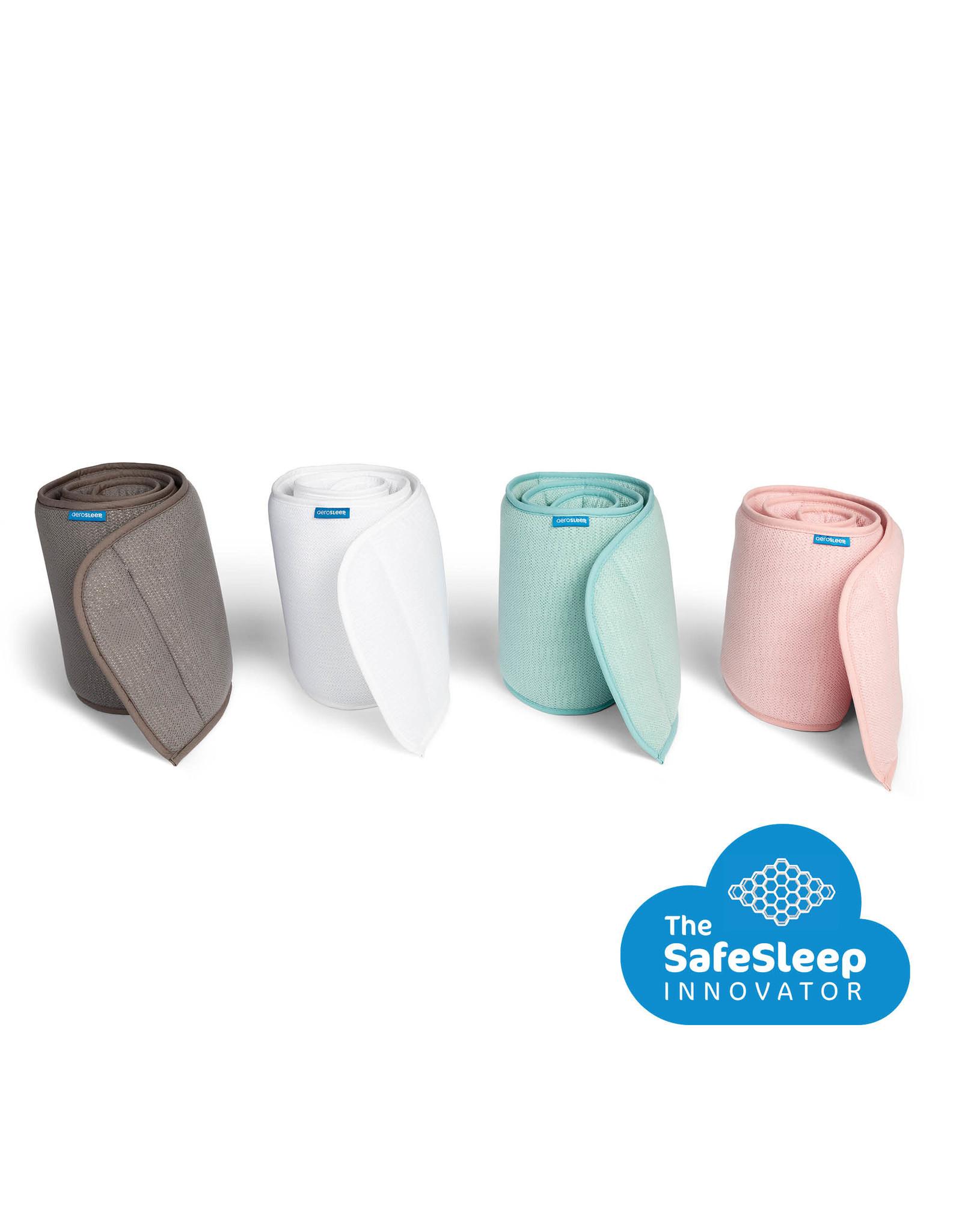 Aerosleep Aerosleep Sleep Safe Bed Bumper: 60-120cm en 70-140cm Groen