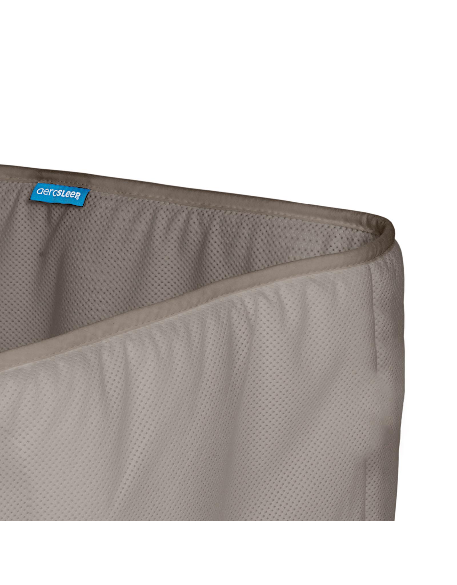 Aerosleep Aerosleep Sleep Safe Bed Bumper: 60-120cm en 70-140cm Grijs