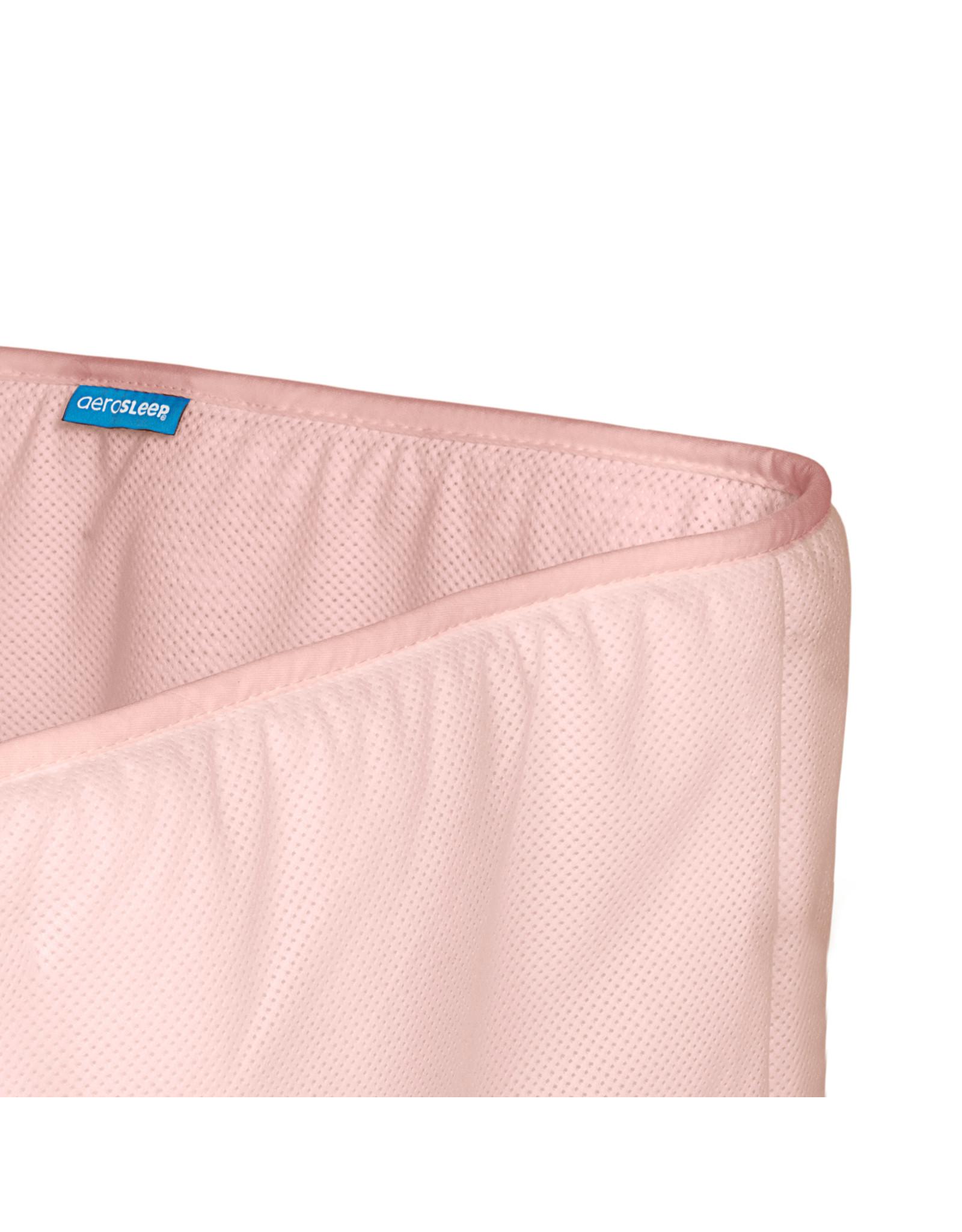 Aerosleep Aerosleep Sleep Safe Bed Bumper: 60-120cm en 70-140cm Pink