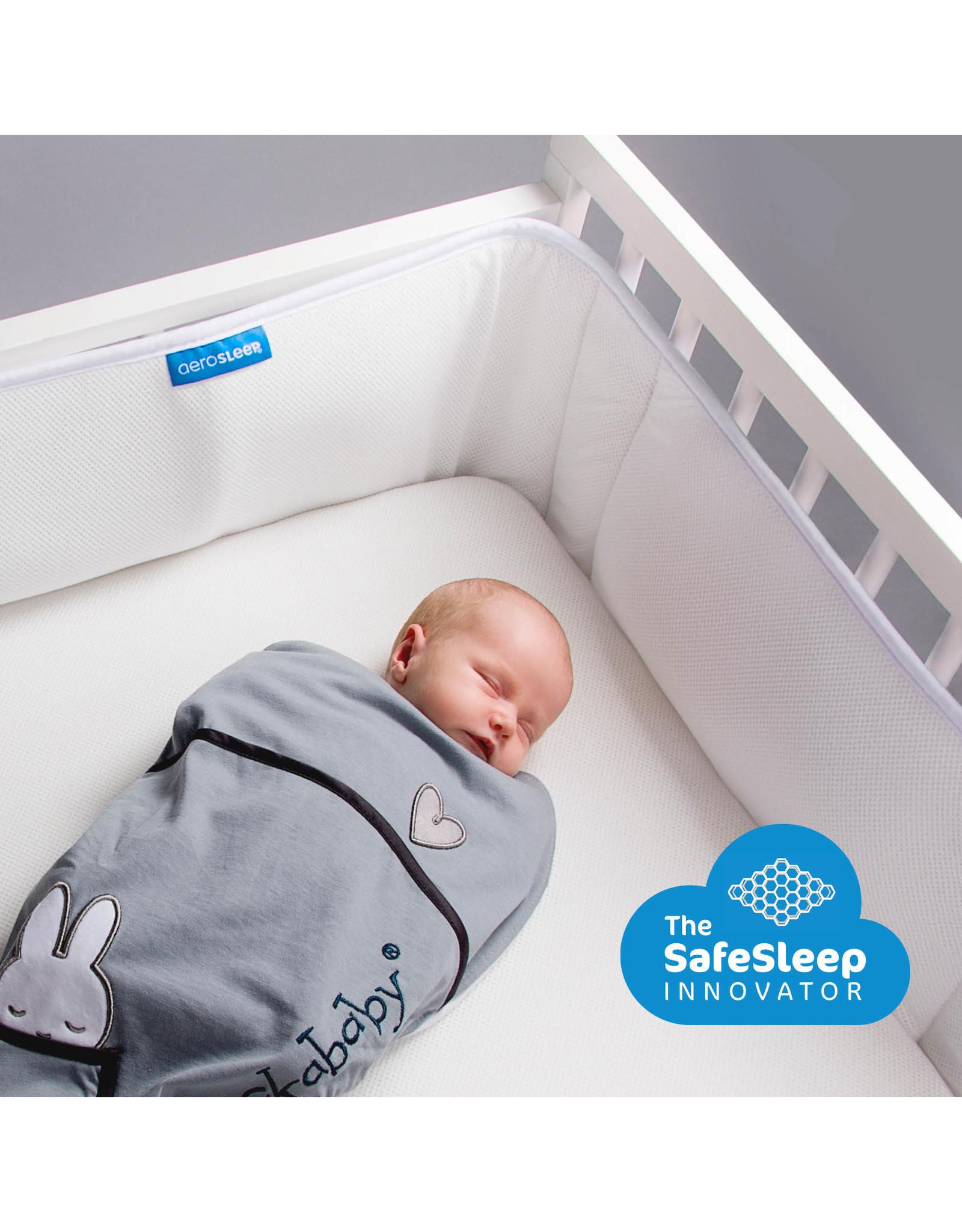 Aerosleep Aerosleep Sleep Safe Bed Bumper: 60-120cm en 70-140cm Wit