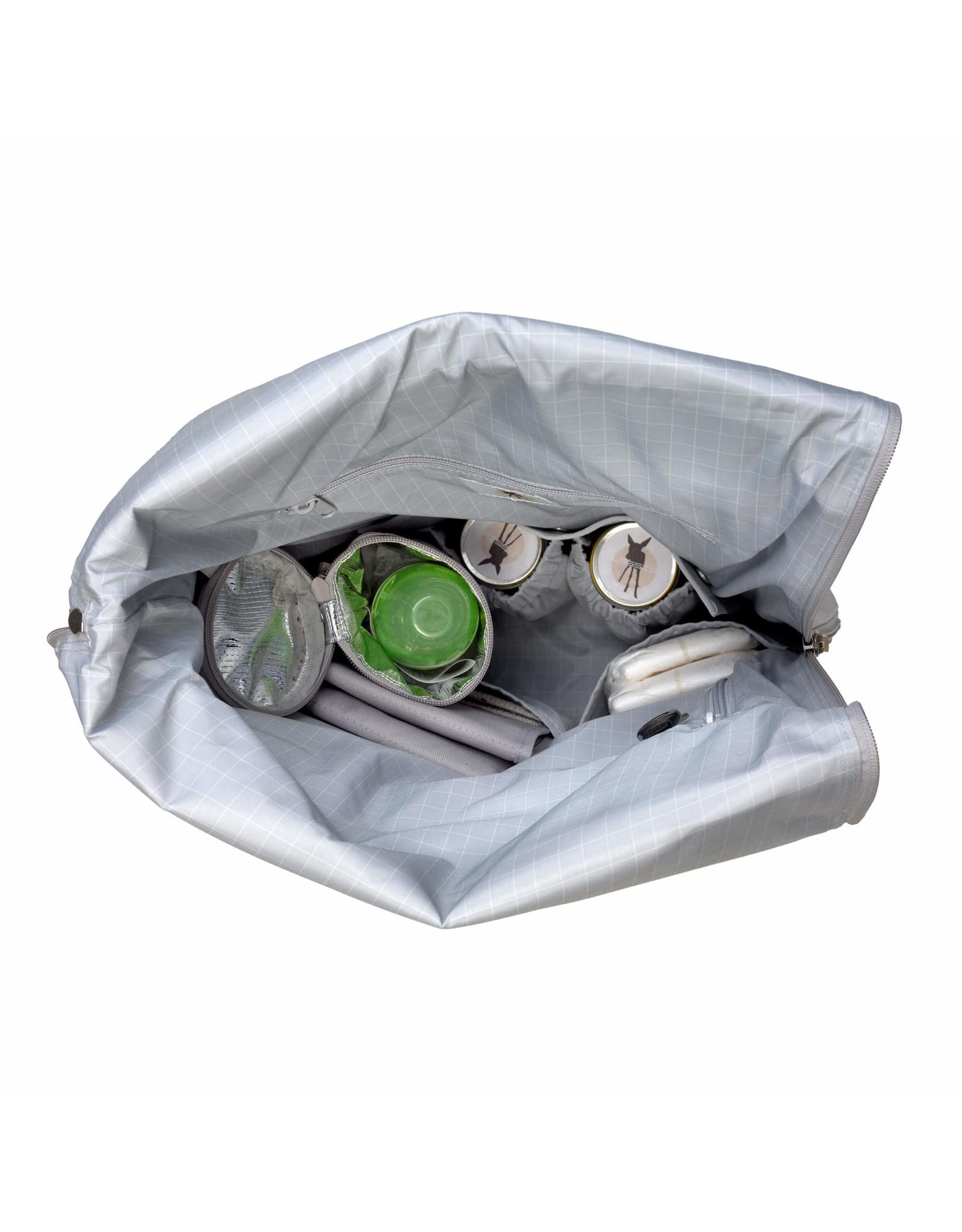 Lassig Lassig Greenlabel Rolltop Backpack Grey