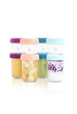 Babymoov Babymoov Babybols In Glas Multiset 240mlx4 , 120mlx4 + Receptenboekje Bio