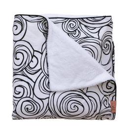 witlof for kids Witlof for Kids Tuck-Inn 60x120 Moon Black/white