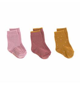 Lassig Lassig Socks 3pcs Rosewood
