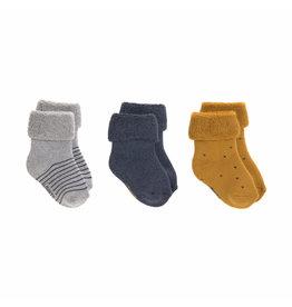 Lassig Lassig Newborn Socks 3pcs Bleu